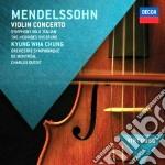 Mendelssohn - Concerto Per Violino - Chung/dutoiot/osm cd musicale di Chung/dutoiot/osm