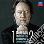 Beethoven - Sinfonie N. 1 E 2 - Chailly/gol cd musicale di Chailly/gol