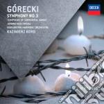 Gorecki - Sinfonia N. 3 - Kord/wpo cd musicale di Kord/wpo