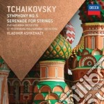 Tchaikovsky - Symphony No.5 / Serenade For Strings - St. Petersburg Philharmonic Orchestra cd musicale di Ashkenazy/po