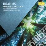 Brahms - Symphonies Nos.1 & 3 - Karajan cd musicale di Karajan/bp