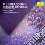 Mendelssohn - Sogno Di Una Notte Di Mezz - Levine/cso cd musicale di Levine/cso