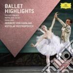Karajan/rostropovich - Ballett Highlights cd musicale di Karajan/rostropovich