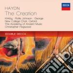 La creazione cd musicale di Hogwood/aam
