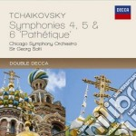 Sinfonie 4-6 cd musicale di Solti/cso
