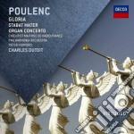Poulenc - Gloria. Stabat Mater. Organ Concerto - Dutoit cd musicale di Dutoit
