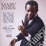 Marv Johnson - I'Ll Pick A Rose For My Rose cd musicale di Johnson Marv