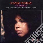 Evidence cd musicale di Candi staton (2 cd)