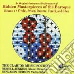 Capolavori Nascosti Del Barocco Vol.1 cd musicale