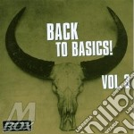 Back To Basics! Vol.3 cd musicale di Back to basics!