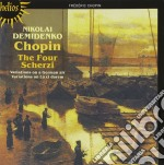 Chopin - Scherzi Variations cd musicale di Chopin