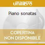 Piano sonatas cd musicale di Clementi