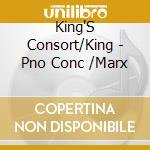 King'S Consort/King - Pno Conc             /Marx cd musicale di Korngold