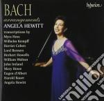 Angela Hewitt - Bach/arrangements cd musicale di Angela Hewitt