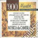 Musica contemporanea (musica da camera 1 cd musicale