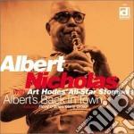 Albert Nicholas With Art Hodes' All Star Stompers - Albert's Back In Town cd musicale di Albert nicholas with art hodes
