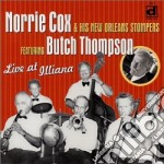 Norrie Cox & His New Orleans Stomp. - Live At Illiana cd musicale di Norrie cox new orle