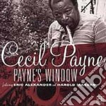 Cecil Payne - Payne's Window cd musicale di Payne Cecyl