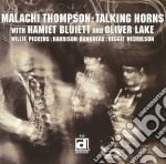 Malachi Thompson - Talking Horns cd musicale di Thompson Malachi