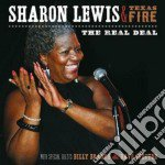 Sharon Lewis & Texas Fire - The Real Deal cd musicale di Sharon lewis & texas