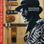 Maximum security cd musicale di Tony Macalpine
