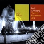 Louis Armstrong - The Best Live Concert 1 cd musicale di Louis Armstrong