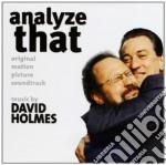 David Holmes  - Analyze That cd musicale di O.S.T. by David Holmes