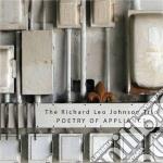Richard Leo Johnson Trio - Poetry Of Appliance cd musicale di Johnson richard leo
