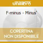 F-minus cd musicale