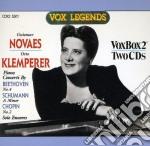 Guiomar novaes e otto klemperer: concert cd musicale
