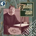 Bach J.S. - The Seven Toccatas For Harpsichord  - Tilney Colin  Cv cd musicale di Bach johann sebasti