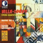 Villa-lobos Heitor - Villa-lobos String Quartets Vol.1 - Quartets Nn.6, 1, 17 /cuarteto Latinoamericano cd musicale di Villa lobos heitor