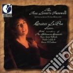 The True Lover's Farewell /custer Larue, Soprano  Members Of The Baltimore Consort cd musicale di Miscellanee