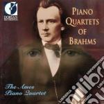 Brahms Johannes - Piano Quartets Of Brahms  - Ames Piano Quartet  /mahlon Darlington, Violino  Laurence Burkhalter, Viola  George Work, Violoncello  W cd musicale di Johannes Brahms