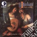 The italian lute songs cd musicale di Miscellanee