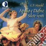 Apollo e dafne - silete venti cd musicale di Handel georg friedr