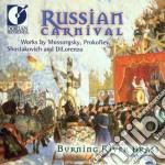 Russian carnival cd musicale di Miscellanee