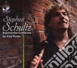 Boismortier Joseph Bodin De - Boismortier's Concerti For Five Flutes /stephen Schultz, Flauto cd musicale di Joseph Boismortier