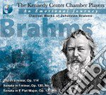Brahms Johannes - An Emotional Journey :the Clarinet Worksof Johannes Brahms /the Kennedy Center Chamber Players cd musicale di Johannes Brahms