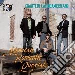 Mexican romantic quartets cd musicale di Miscellanee