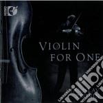 Violin For One  - Pronin Stanislav  Vl cd musicale di Miscellanee