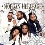 THE JOURNEY THUS FAR CD+DVD               cd musicale di MORGAN HERITAGE