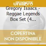 REGGAE LEGEND (BOX 4 CD) cd musicale di ISAACS GREGORY