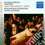 Palestrina - Messa Papae Marcelli E Motetti - Georg Ratzinger cd musicale di Georg Ratzinger