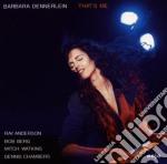 Barbara Dennerlein - That's Me cd musicale di Barbara Dennerlein