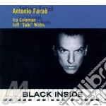 Black inside cd musicale di Antonio Farao'