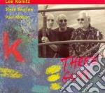 Three guys cd musicale di Lee Konitz