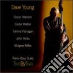 Piano-bass duets - peterson oscar flanagan tommy young dave cd musicale di D.young/o.peterson/t.flanagan