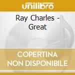 THE GREAT RAY CHARLES cd musicale di Ray Charles