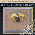 SALSA & MAMBO CUBANO/5CD cd musicale di ARTISTI VARI